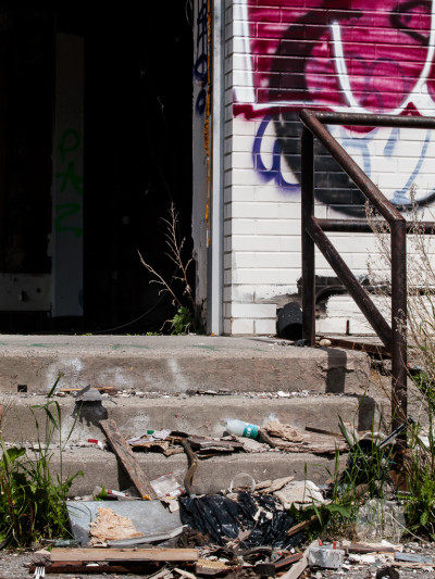 Abandoned building Highway 1-SB216791
