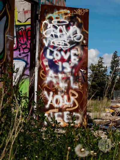 Abandoned building Highway 1-SB216824