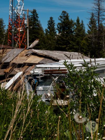 Abandoned building Highway 1-SB216826