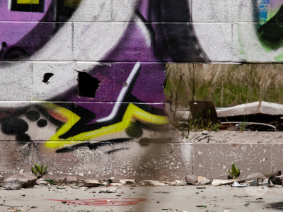 Abandoned building Highway 1-SB216839