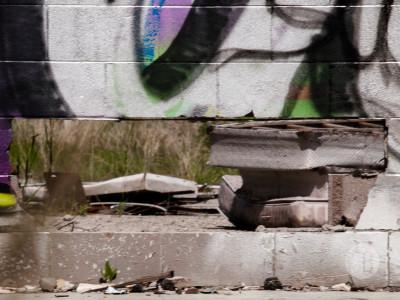 Abandoned building Highway 1-SB216840