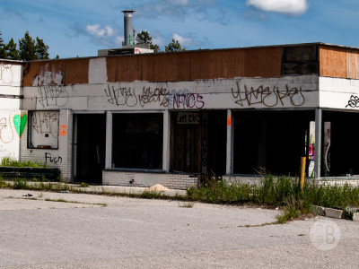 Abandoned building Highway 1-SB216892